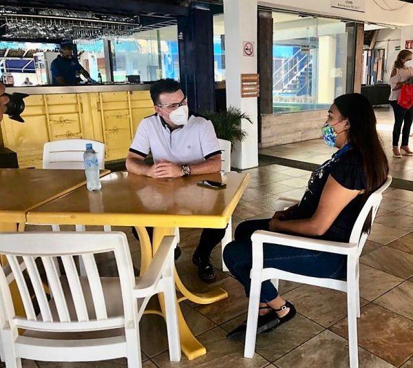 Óscar Pérez Barros Actividades el Primer Día de Apertura Turística en Mazatlán Julio 1 2020 4