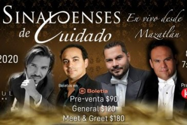 Sinaloenses de Cuidad en su primer concierto en Vivo desde Mazatlán