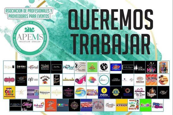 Organizadores Profesionales de Evntos de Mazatlán Exigen los Dejen Trabajar 2020 3
