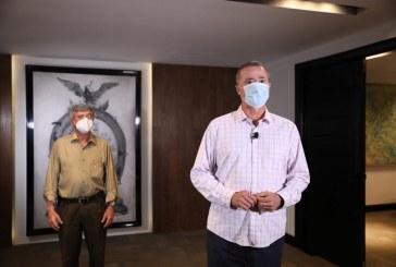 Quirino anuncia fideicomiso de 50 mdp para la adquisición de vacunas de Covid-19