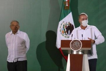 Quirino destaca avances en seguridad ante AMLO