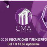 CMA anuncia nuevas fechas en proceso de admisión.