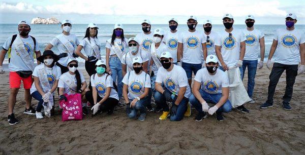 Realeza Carnavalera Limpia Playa Olas Altas 2020