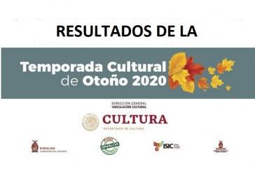 Da a conocer el ISIC a los participantes para la Temporada Cultural de Otoño 2020