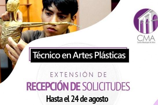 Carrera Técnica en Artes Plásticas extiende la recepción de solicitudes para nuevo ingreso.