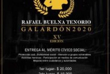 """Premio Estatal de la Juventud """"Rafael Buelna Tenorio"""""""