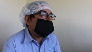 Carlos Suárez, Gerente de Producción, planta HARI MASA Sinaloa