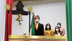 El atípico grito de Independencia de México 2020 en Concordia Sinaloa México 1