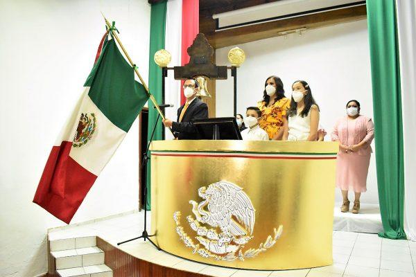 El atípico grito de Independencia de México 2020 en Concordia Sinaloa México