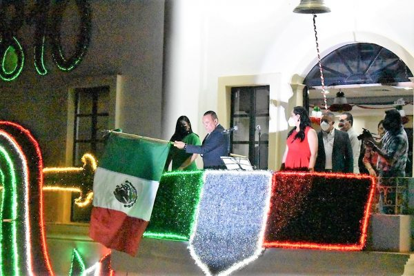 El atípico grito de Independencia de México 2020 en Elota Sinaloa México