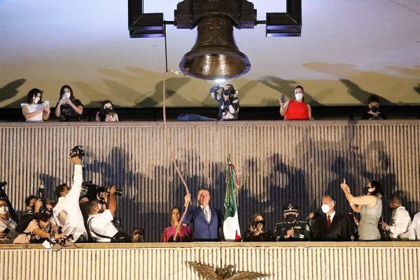 El atípico grito de Independencia de México 2020 en Sinaloa Quirino Ordaz Coppel 1