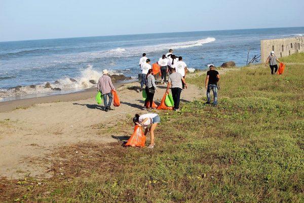 Limpieza de Playas Nuevo Altata Las Aguilillas Navolato Sinaloa México Agosto 2020 1