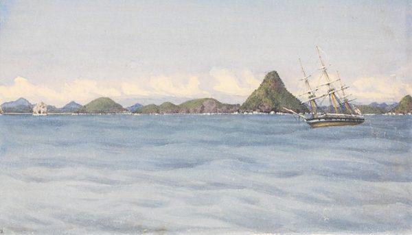 Mazatlán en 1850 de Acuerdo al Sr Gilbert 1