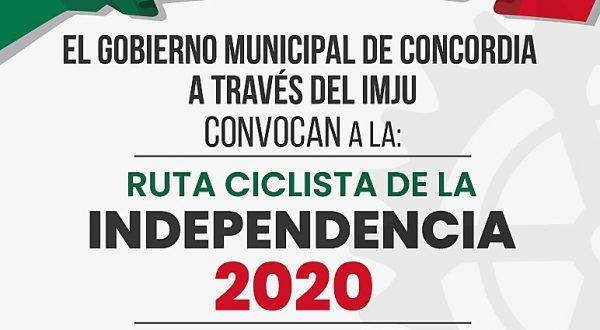 Ruta Ciclista de la Independencia Concordia Pueblo Señorial 2020