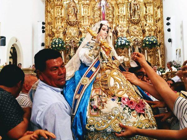 Santísima Virgen del ROsario Sinaloa México 2020 1