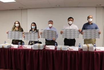 Secretaría de Salud de Sinaloa recibe 38 mil 887 boletos para la rifa del avión presidencial.