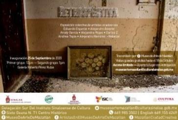 """Invita Museo de Arte a la exposición """"Retrospectivas"""""""