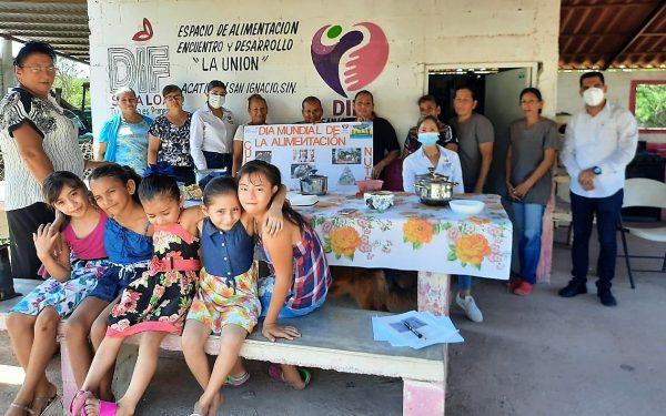 Acatitlán Zona Trópico San Ignacio Sinaloa México Conmemora El Día Mundial de la Alimentación 2020 3