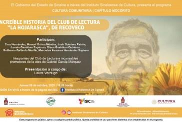 "Cultura Comunitaria del ISIC, miembros del Club de Lectura ""La Hojarasca"""