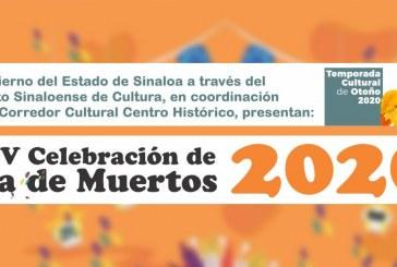 El Instituto Sinaloense de Cultura les comparte los eventos a realizarse el día de HOY, VIERNES 30 DE OCTUBRE DE 2020.