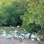 Playa Las Águilas de Navolato, la otra cara de las campañas de Limpieza: ¡¡¡Glup!!!