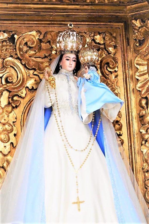 Santísima Virgen del Rosario Pueblo Mágico Festividad Pandemia 2020 1