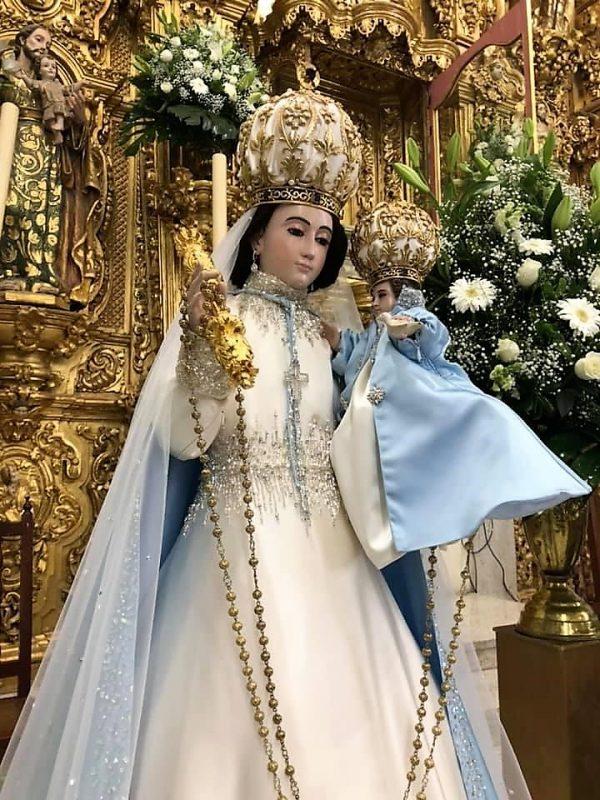 Santísima Virgen del Rosario Pueblo Mágico Festividad Pandemia 2020