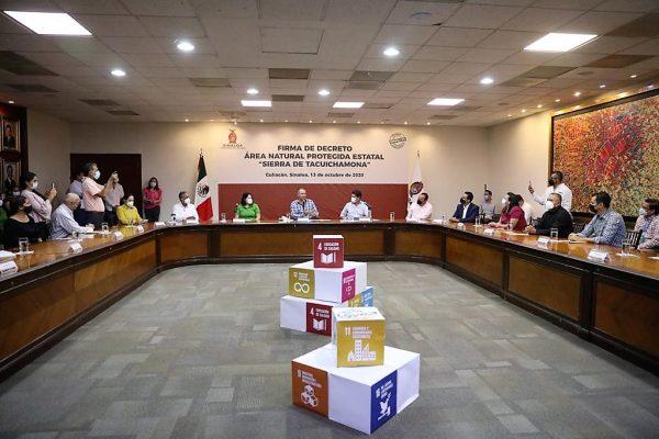 Sierra de Tacuichamona Decreto ANP 2020 4
