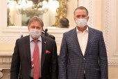 Quirino se reúne con el embajador de Rusia para asegurar adquisición de vacuna COVID