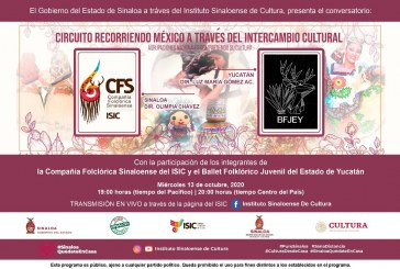 Charlará la Compañía Folclórica del ISIC  con el Ballet Juvenil de Yucatán, este miércoles
