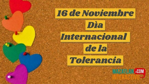 Día Mundial de la Tolerancia 2020