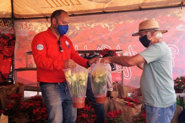 Feria de la Flores de Noche Buena Concordia Sinaloa México Zona Trópico La Petaca 2020 1