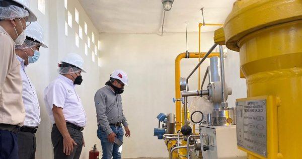Harimasa, primera empresa industrial conectada a la red del gasoducto en la zona centro de Sinaloa 2020 1