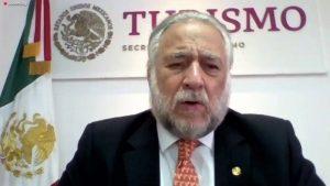 Miguel Torruco Secretario de Turismo México Cumbre de Negocios Maztalán 2020