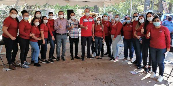 Quirino Ordaz Coppel Supervisa Avances de Obras en San Juan San Ignacio Sinaloa 2020 2