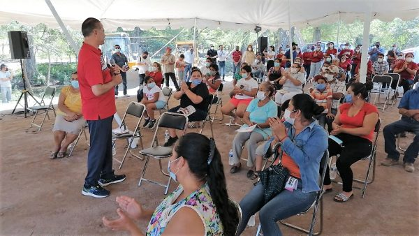 Quirino Ordaz Coppel Supervisa Avances de Obras en San Juan San Ignacio Sinaloa 2020 3