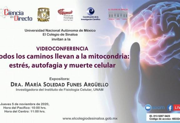 Soledad Funes expondrá conferencia sobre muerte celular