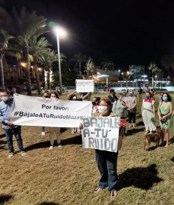 Vecinos del Centro Protestan ante Contaminación Auditiva Maztalán 2020 1