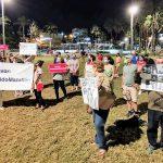 El Excesivo Ruido que producen Pulmonías y Aurígeros hace que vecinos del Centro de Mazatlán salgan a protestar