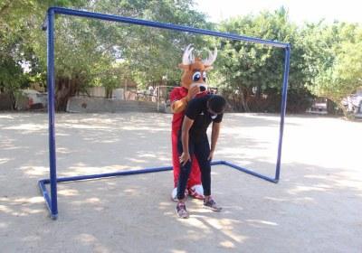 Venados y fundacion 1+1 se unen en jornada deportiva. (1)