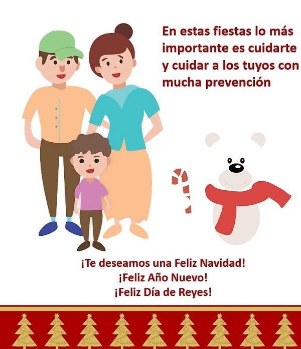 En casa es mejor! Instan a Celebrar las Fiestas Navideñas de Año Nuevo y Reyes en Familia 2020 6
