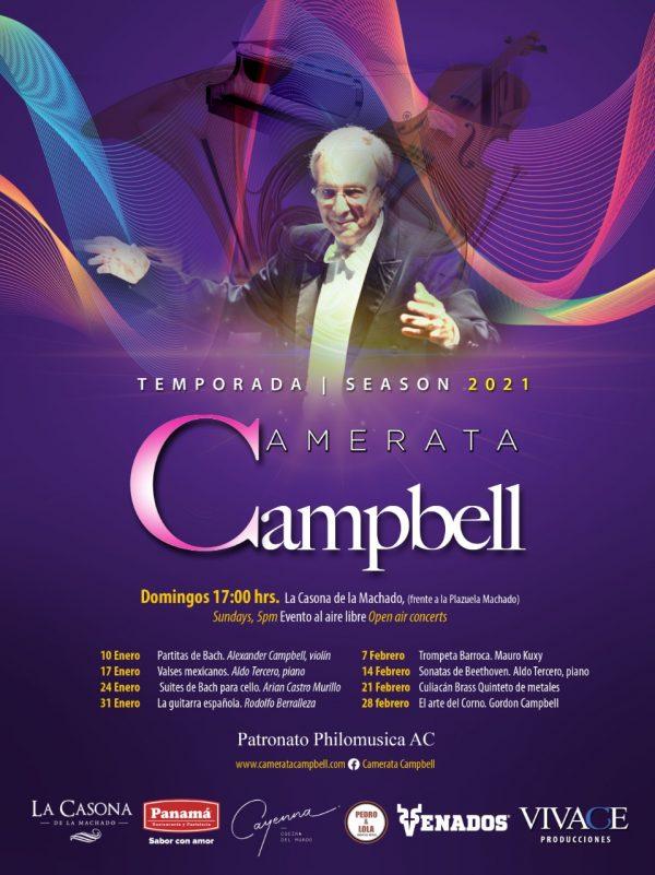 Temporada Gordon Campbell 2021 Programa 1