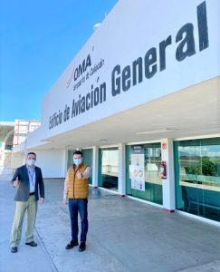 Aplicarán pruebas COVID 19 en los Aeropuertos OMA Culiacán y Mazatlán Óscar Pérez Barros 2021 1