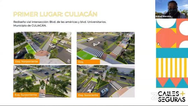 Calles Seguras para Mazatlán Culiacan y Angostura Proyectos Ganadores 2021 Culiacán Primer Lugar