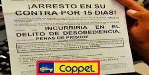 Coppel Servicios Financieros Hostigando a las Seis de la Mañana México 2021 3