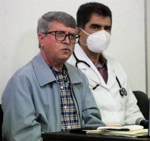 Dr. Efrén Encinas Torres, Supervisión Vacunación Covid 19 Hospitales Generales Sinaloa 2021 1