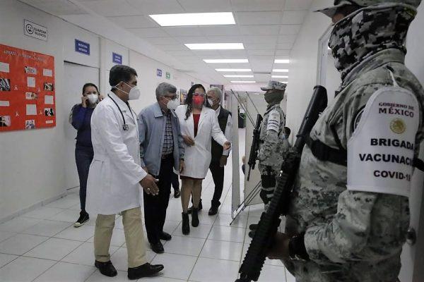 Dr. Efrén Encinas Torres, Supervisión Vacunación Covid 19 Hospitales Generales Sinaloa 2021 2