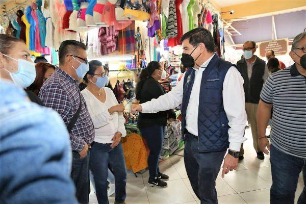 Javier Lizárraga Mercado Recorrido Mercado Pino Su+arez Mazatlán Enero 15 2021 2