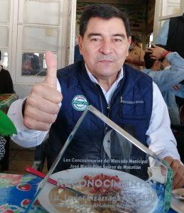 Javier Lizárraga Mercado es reconocido por los locatarios del Mercado Pino Suárez de Mazatlán 2021 1