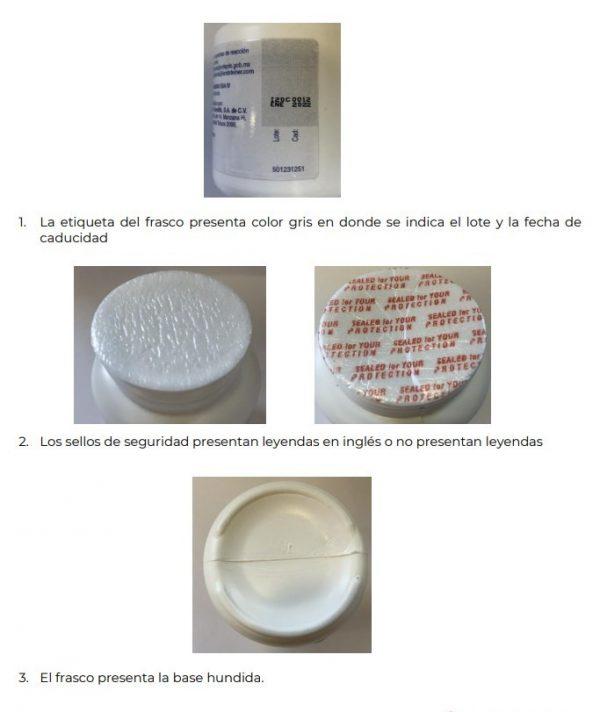 Lanfetil-500 Falsificación Sinaloa 2021 Alerta